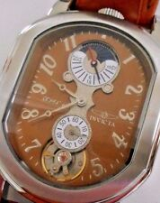 Mint Rare Vintage INVICTA 2037 Objet Automatic Watch with Box