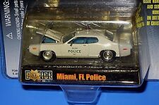 '71 Plymouth Racing Champions Police U.S.A.1 of 9,999-Miami, Fl. Police Issue#98