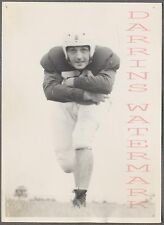 Vintage Photo Football Playing Man in Team Uniform 736324