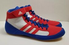 Adidas Adults Havoc Wrestling Boots - Red/White/Blue - AQ3324 Men's 12 Shoes