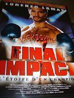 DVD FILM 100% ACTION : FINAL IMPACT - LORENZO LAMAS - CHAMPION DE KICKBOXING