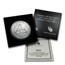 2011-P 5 oz Silver ATB Vicksburg, MS - with Box and Certificate - SKU #68792