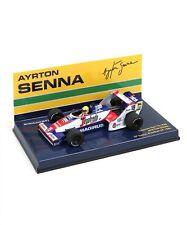 New Minichamps 1/43 Toleman Hart TG183B Ayrton Senna 1984 Brazilian GP debut