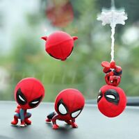 Car Dashboard Head Shake Cartoon Figure Spider Man Interior Decor Auto Magnet