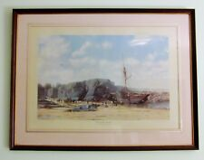 John Chancellor 'Working the big Tide' signed Limited Edition print 38/500