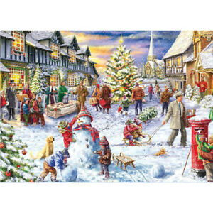 1000Pcs Jigsaw Puzzle for Adults Kids Christmas Puzzle Game Puzzle Toys Decor