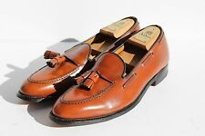 Alden of New England 10.5A 662 Burnished Tan Tassel Moccasins - $535.00 - USA