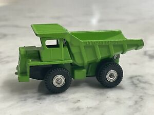 Vintage 1978 Tomica Green Dump Truck Diecast Made Japan