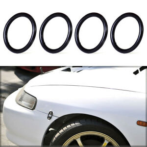 Car Bumper Fender Quick Release Fastener Replacement Rubber O-Ring Band Kit