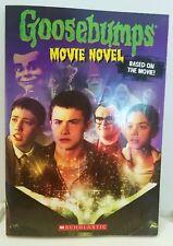 GOOSEBUMPS Movie Novel Based on the Movie 2015 Ex Cond