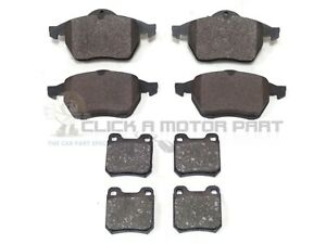 SAAB 9-3 93 1998-2002 FRONT AND REAR BRAKE DISC PADS SET NEW