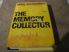 MEMORY COLLECTOR MEG GARDINER  SIGNED TITLE PAGE NEW UNREAD TRUE 1ST PRINTING