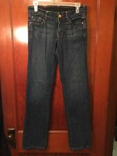 (#23)Red By Marc Ecko Jeans 7 Heart Cut A Sentiment Dark Wash Straight Slim Seve