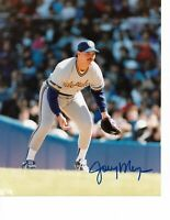 Joey Meyer Milwaukee Brewers Signed 8x10 Photo MLB Free Shipping
