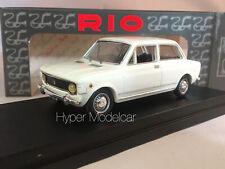 RIO 1/43 FIAT 128 2-DOOR 1969 BIANCO ART. 4205