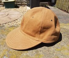 the hill-side ball cap american brown duck panel oi polloi