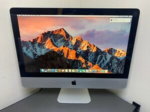 "Apple iMac 21.5"" A1311 Intel Core i3 3.06GHz 4GB 500 HD SIERRA 2010 REFURBISHED"