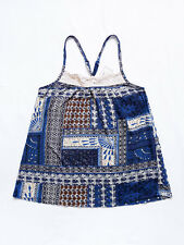 NEW WITH TAG HERITAGE 1981/Forever 21 Crochet/Racer Back Tank Top/Cami Small