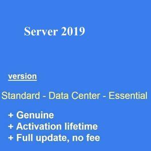Server 2019 Standard/Datacenter Retail product full version usb /dvd