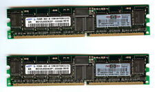 376638-B21 HP Speicher 1GB PC3200/PC400 CL3 Registered ECC 2x 512MB 373028-051
