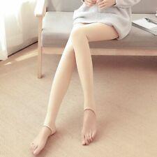 Lady Leggings Autumn Winter Solid High Waist Thick Velvet Super Elastic Fashion