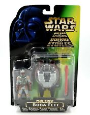 Star wars poder de la fuerza-Deluxe Boba Fett Ala-Blast rocketpack figura