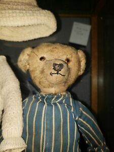 VINTAGE TEDDY BEAR....turn of the Century?.....Steiff?....RARE???....99 cents