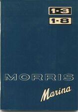Morris Marina Series 1 Original Owner's Handbook 1972-75 1.3 1.8 TC Estate