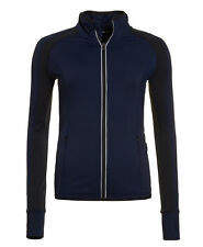 f90062116a New Womens Superdry Unique Sample Sport Essentials Track Top Size XS Dark  Navy
