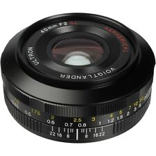 Brand New Unused Voigtlander Ultron 40mm F2 SL II N Aspherical Canon EOS EF