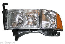 New Replacement Headlight Assembly LH / FOR 1999-01 DODGE RAM SPORT