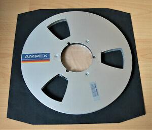 1 AMPEX * Alu Tonbandspule * 26,5cm / NAB * guter Zustand