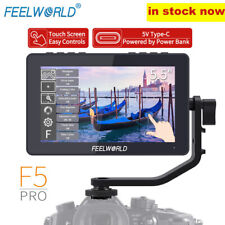 "FEELWORLD F5 Pro Touch Screen 4K HDMI 5.5""  LCD IPS DSLR Camera Field Monitor"