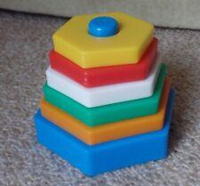 Steckpyramide Babyspielzeug , Spielzeug, Motorikspielzeu, Stapelspiele