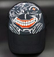 Anime Tokyo Ghoul Kaneki Ken Baseball Cap Trucker Hat Cosplay Gift