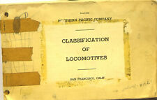 Southern Pacific Company Classification of Locomotives 1961