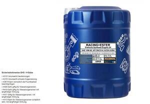 10 L MANNOL huile moteur SAE 10W-60 Course + Première Oil Api Sn / CH-4 Acea A3