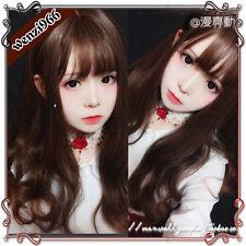 Gothic Japanese Harajuku Sweet Dolly Lolita Cosplay Kawaii Hair Long Curly Wig