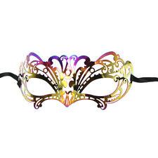 Venezianische Augenmaske Metall Ballmaske Party Maske Karneval Maskerade Spitzen
