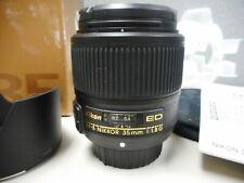 Nikon AF-S NIKKOR 35mm f/1.8G ED Lens MINT