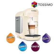 Tassimo TAS1407GB Vivy 2 Coffee Machine Cream 1300W 0.7L Auto Shutoff Bosch