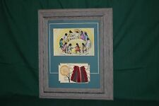 "De Grazia Reproduction Driftwood Framed Print ... ""Los Ninos"" ... Beautiful!!"