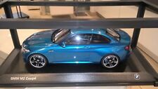 "BMW M2 1:18 ""long beach blue"""
