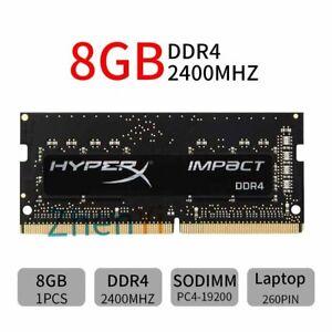 8GB 4GB DDR4 2400MHz PC4-19200 260Pin SODIMM Laptop Memory RAM HyperX Impact BT