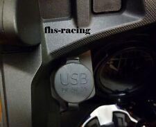 12 V Doppel-USB-Einbausteckdose Steckdose für Honda Africa Twin ; CRF 1000 SD04