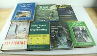 Lot of 7 Vintage Fly Fishing Books Angler Instructional Trout Instant Library