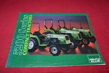 Deutz Allis 5215 5220 5230 Compact Tractor Dealers Brochure YABE14