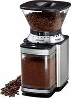 Supreme Grind Automatic Burr Mill Coffee Grinder 18 Position Grind Selector 8 oz