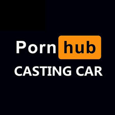 Pornhub Casting Car Auto Aufkleber Sticker Tuning Heckscheibe Fenster nice NEU