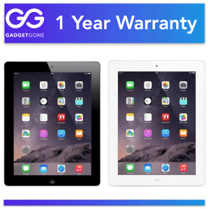iPad 4 (4th Gen) | 16GB 32GB 64GB 128GB | WiFi + Cellular 4G Unlocked or WiFi